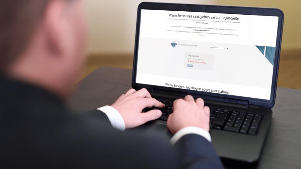 Zugang Persönlichkeitsanalyse